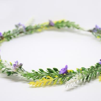 Flower girl hair wreath, flower gir..